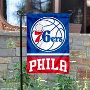 Philadelphia 76ers Double Sided Garden Flag