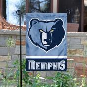 Memphis Grizzlies Double Sided Garden Flag