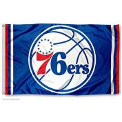 Philadelphia 76ers NBA Logo Flag and Banner