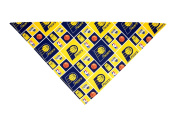 Indiana Pacers Dog Bandana (Large