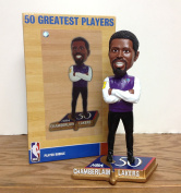 Wilt Chamberlain Los Angeles Lakers NBA 50 GREATEST PLAYERS Limited Edition Bobblehead