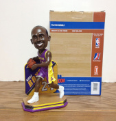 Kobe Bryant METAL SHIELD Los Angeles Lakers Limited Edition Bobblehead ~ This is the LAST EVER BOBBLEHEAD RELEASED OF KOBE DURING HIS PLAYING CAREER