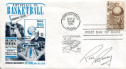 Rick Barry Autographed Basketball Hall of Fame Envelope