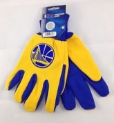 Golden State Warriors Adult Two Tone Gloves