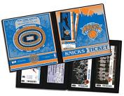NBA New York Knicks Ticket Album, One Size