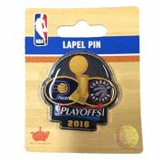 Indiana Pacers vs Toronto Raptors 2016 NBA Playoffs Metal Collectors Lapel Pin