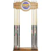 NBA Los Angeles Lakers Cue Rack with Mirror, One Size, Brown