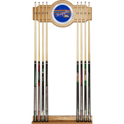 NBA Denver Nuggets Cue Rack with Mirror, One Size, Brown