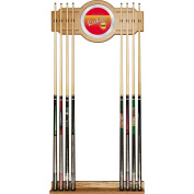 NBA Houston Rockets Cue Rack with Mirror, One Size, Brown