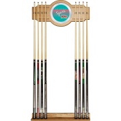 NBA San Antonio Spurs Cue Rack with Mirror, One Size, Brown