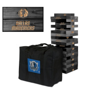 Dallas Mavericks Onyx Stained Giant Wooden Tumble Tower Game