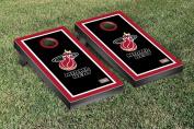 Hardwood Classics (Basketball) Miami Heat '88-'89 Border Version Cornhole Game Set