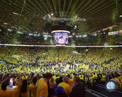 ORACLE Arena Golden State Warriors 2015 NBA Conference Finals Game 5 Photo (Size