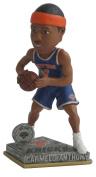 NBA New York Knicks Anthony C. #7 2015 Springy Logo Action Bobble Road Figurine, Blue