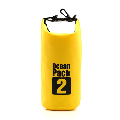 Waterproof Bag - 2 L - Fully Waterproof - Water Sports Rowing Canoes Hiking, Skiing, Surfing, Sailing, Water Sports