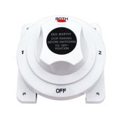 ECO-WORTHY Battery Selector Switch Replaces Guest 2111A 4 Position for Marine Ship Caravan