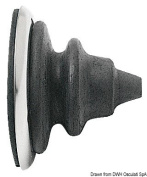 SS ring nut with black Dutral bellow