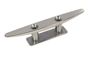 150mm Stainless Steel 2 Hole Low Deck Cleat For Yachts/Day Boats/ Speedboats