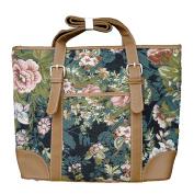 """Signare 4754-Blossom """"Blossom"""" Square Purse, Tapestry"""