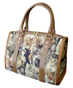 """Signare 93038-Cat """"Cat"""" Large Purse, Tapestry"""