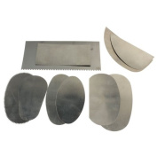 Jocestyle 10 Pcs Stainless Steel Clay Tool Kit Graver Clay Sculpture Sculpting Carving Ceramic Arts Crafts Tools Set