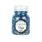 Amerikan Body Art Midnight Blue Pixie Paint Glitter Gel
