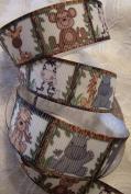 Jungle Animal Printed Grosgrain Ribbon - 2.2cm Wide - 5 Yards - Hair Bows & Crafts