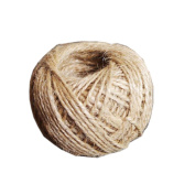 50m Natural Jute Burlap Twine String Rope Arts Crafts Packing Wedding Gift Tags Wrap Decoration