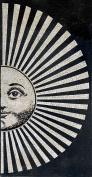Mosaic Art - Striped Sun