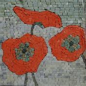 Floral Mosaic Accent