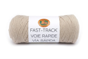 Lion Brand Yarn 521-122 Fast Track Yarn Fast Track, Truckers Taupe