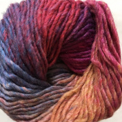 Crystal Palace Yarns Danube DK #310 Fruit Parfait - Lavender, Pink, Apricot Nylon, Wool, Rayon 50 Gramme, 163 Yards