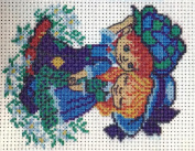 """Friends"" Printed Tapestry / Cross Stitch Needlework Set"