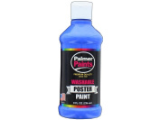 Palmer Washable Poster Paint 240ml Ultra Blue