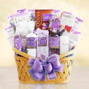 Relaxing Lavender Spa Gift Basket for Women - Ultimate Version by Gifts to Impress