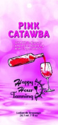 5 Pink Catawba Tanning Lotion Bronzer Packets