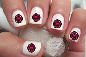 Firefighter Wife Design #3 Nail Art Decals