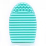 ❤ ☞ KESEE Cleaning Glove MakeUp Washing Brush Scrubber Board Cosmetic Clean Tool