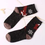 OVERMAL Women Crochet Knitted Stocking Leg Plush Cover Trim Socks