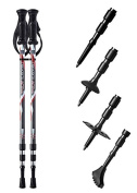 Pair of Trekrite Active Antishock Power Walking Poles/ Hiking Sticks