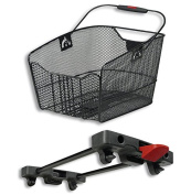 Rixen & Kaul City Max Klickfix basket for Racktime black