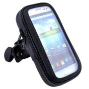 Bluelans® Waterproof Case Bike Mount Phone Holder for iPhone 6 Plus, 6s Plus, Galaxy Note 2, 1, S6 Edge S7 Edge, Moto X Pure, Droid Maxx 2, Droid Turbo 2, Devices with 13cm - 14cm Display