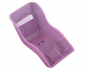 Ammaco Girls Kids Bike Rear Pretty Pink Glitter Baby Dolly Carrier Kids Seat