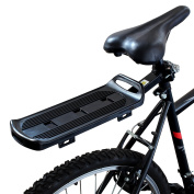 PedalPro Quick Release Rear Bicycle Cargo Rack With Bungee Cord