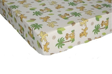 Lion King Cub Simba (Fitted Sheet Only) Size Crib Baby Bedding Decor