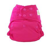 Sweet Pea Reusable Swim Nappy, Mermaid, One-Size, Pink