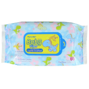 Pure-Aid Lightly Scented Baby Wipes-60ct