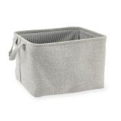 Koala Baby Storage Bin - Grey Glitter