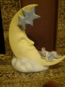 Vintage Moon, star and mouse nightlight