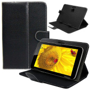 For 25cm 26cm 26cm Android Tablet PC, Mchoice Black Universal Leather Cover Case Stand for 25cm 26cm 26cm Android Tablet PC